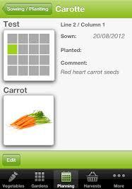 iphone and ipad gardening