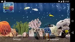 aquarium 3d live wallpapers you