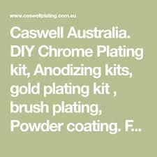 caswell australia diy chrome plating