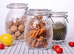owl shape tea glass jar container