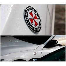 Umbrella Corporation Collection Refiting Sticker Emblem Car Decoration Natalex Auto