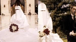 عروسه منتقبه فليقولو عن حجابى Youtube