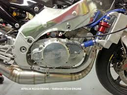 motorcycle hybrid frame engine kits