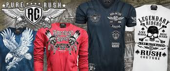 rush couture apparel club wear gym