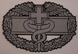 Window Bumper Sticker Military Army Combat Medical Badge New Decal 767720214604 Ebay