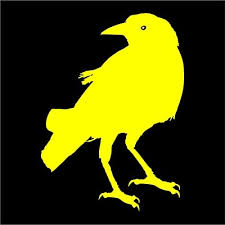 Amazon Com Crow Raven Blackbird Decal Sticker Car Decal Laptop Decal Choice Of Colors Sizes Die Cut No Background 3 Tall Yellow Automotive