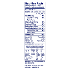 dannon plain all natural nonfat yogurt