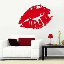 Sexy Lips Wall Decal Wall Stickers From Trendy Wall Designs