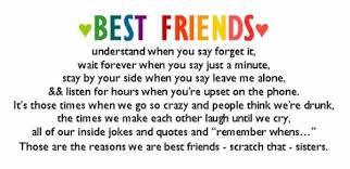 best friend understand when you say forget it best friend quote