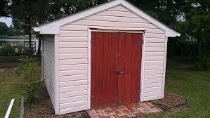 new shed doors woodbin