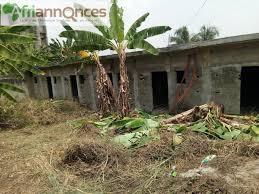 terrain plus maison inachevÉe en vente