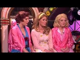 sandy the pink las from grease the