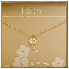 efy tal jewelry tiny gold filled faith