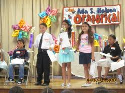 Ada S. Nelson Annual Oratorical Contest | Ada S. Nelson Elementary ...