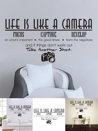 Visit To Buy 2017 2016 New Letter Creative Desk Pvc Life Is Like A Camera Wall Sticker Vinyl Room Wall Stickers Home Wall Stickers Quotes Wall Quotes Decals