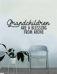 Grandchildren Are A Blessing Quote Wall Decal Sticker Bedroom Living R Boop Decals