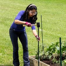 Expert Gardener Powder Coated Steel Fence U Post Green 4 Walmart Com Walmart Com