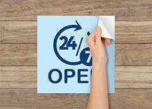 Window Clings Printing Custom Sizes And Shapes Printplace