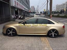 2020 High Quality Champagne Gold Matte Satin Chrome Car Vinyl Wrap Film Decal Bubble Free For Car Wrapping From Newsight Vinyl World 178 3 Dhgate Com