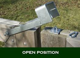 Throw Over Gate Loop For Double Gate By The Barn Farm Gate Fence Gate Latch