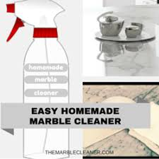 homemade marble cleaner