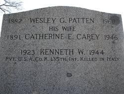 Wesley George Patten (1882-1960) - Find A Grave Memorial