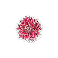 The Dahlia Sticker Blank Tag Co