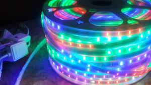 Đèn LED Dây Nhiều Màu Trang Trí Ngoài Trời Hướng Dẫn Lắp Đặt - YouTube