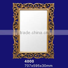 wall mirror frames with glass of pu