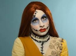 halloween makeup tutorial creepy
