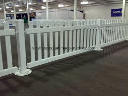 China Temporary Removable Vinyl Fences Plastic Fencing Panel China Vinyl Fence Pvc Fence