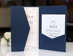 Compre Azul Marino Imprimir Gratis Laser Cut Invitaciones Tarjetas