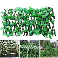 Expandable Faux Privacy Fence Expanding Trellis Fence Retractable Fence Artificial Garden Plant Fence Privacy Screen Dropship Fencing Trellis Gates Aliexpress