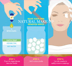 diy makeup wipes for oily skin