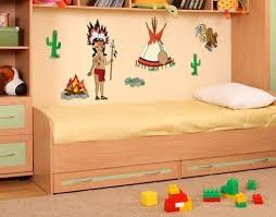 Indian Stickers Wall Decal Set Style And Apply