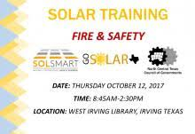 Solar Training: Fire and Safety | www.gosolartexas.org
