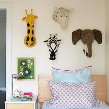 Rd Hand Made Felt Animal Head For Kids Room Decoration Nursery Wall D Rollipolli