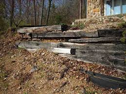 fix a timber retaining wall fine