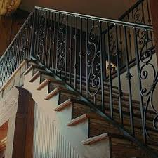 Wrought Iron Railing Designs Staircase Railings Custom Design Simple Exterior Home Elements And Style Art Deck Fence Stair Outdoor Prefabricated Crismatec Com