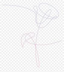 clip art bts love yourself flower