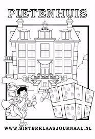 Sinterklaasjournaal Kleurplaat Printen