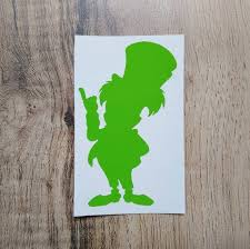 Mad Hatter Decal Disney Decal Disney Sticker Alice In Etsy In 2020 Disney Decals Disney Sticker Mad Hatter