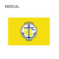 Ebdecal Anchorage Alaska Flag For Auto Car Bumper Window Wall Decal Sticker Decals Diy Decor Ct11832 Car Stickers Aliexpress