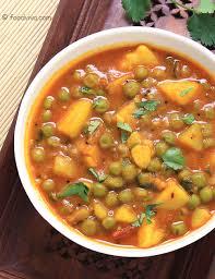 aloo matar curry recipe using a
