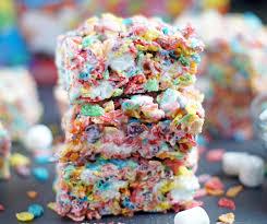 fruity pebbles marshmallow treats 5