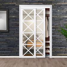 mirrored manufactured wood glass