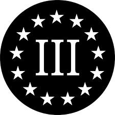 3 Percenters Decal Sticker 03