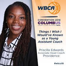 WBCA Convention Roundtable Presenter — Priscilla Edwards Basketball