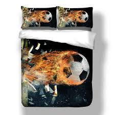 fashion modern bedding set 3d football