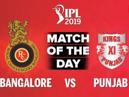 IPL 2019 Live Blog: RCB vs KXIP - Sports 29